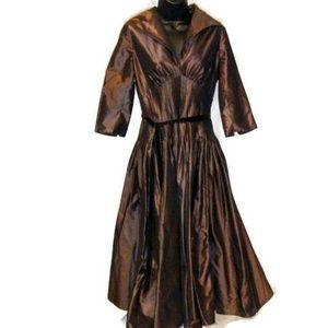 Ricki Freeman for Teri Jon Silk Formal Dress